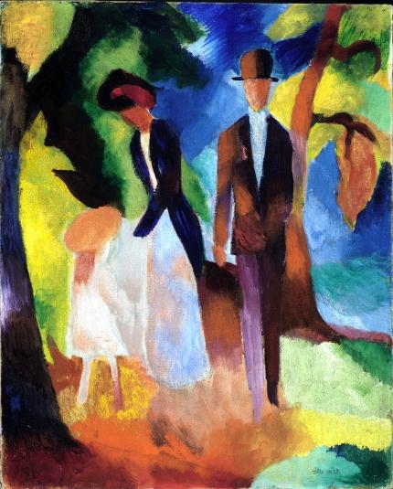 Leute Am Blauen See (1913)