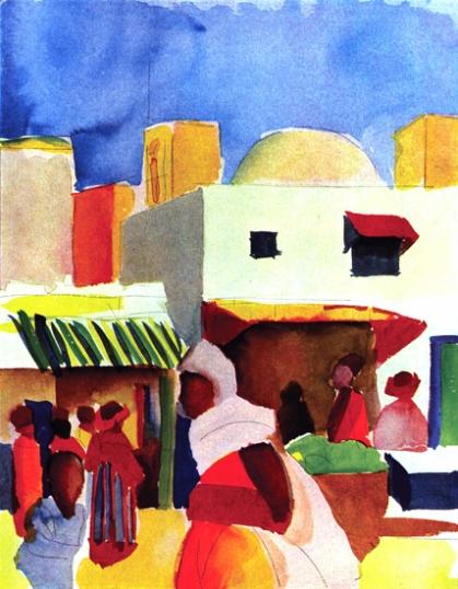 Algeria Market 1914