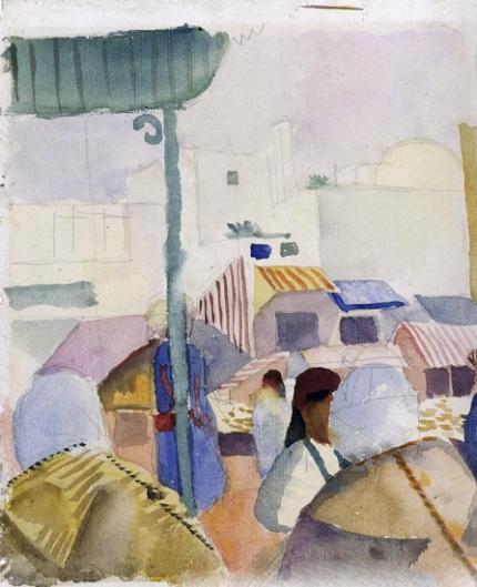 Market In Tunis Ii