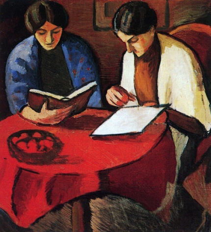Two Women At The Table