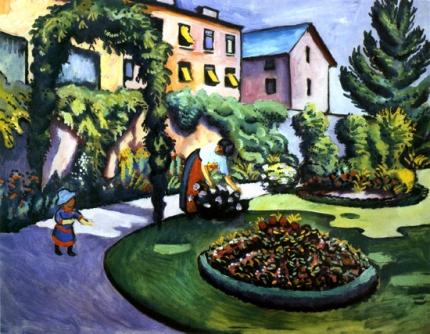 Garten Des Künstlers In Bonn