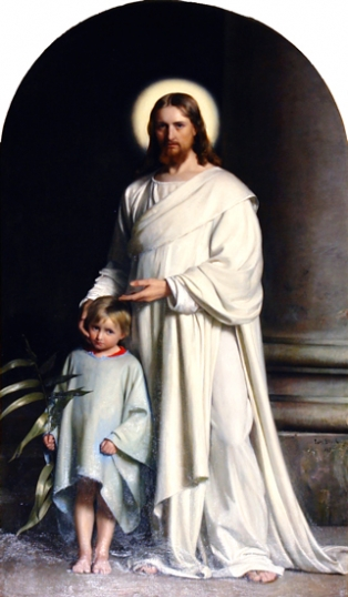 Christ And Child