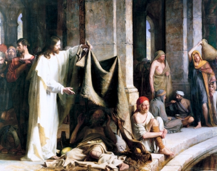Christ Healing The Sick