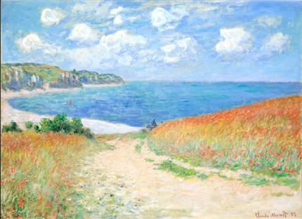 Path In the Wheat Fields at Pourville 1882