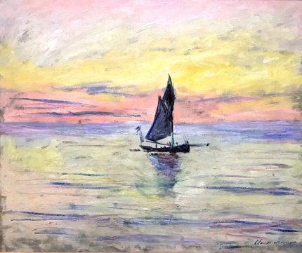 Sailing Boat, Evening