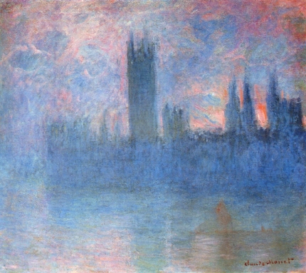 Houses of Parliament, Symphony In Pink, 1900-01