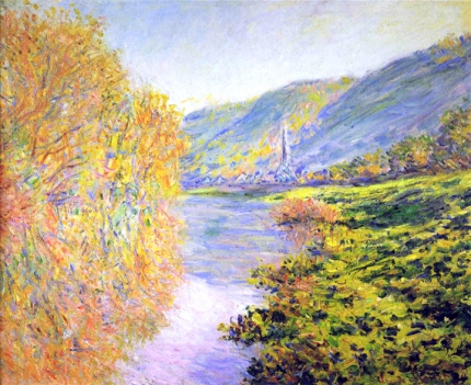Banks of the Seine at Jeufosse, Autumn, 1884