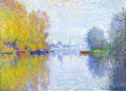 Autumn On the Seine, Argenteuil (1873)