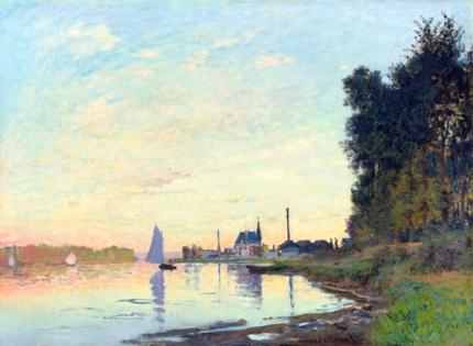 Argenteuil, Fin D'après-Midi 1872
