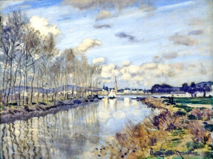 Argenteuil, Seen From the Small Arm of the Seine, 1872