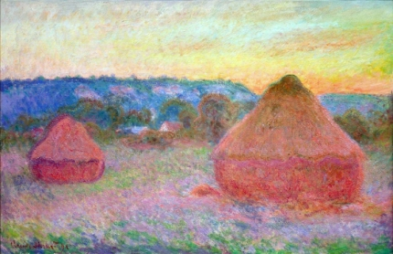 Grainstacks at the End of the Day, Autumn, 1891