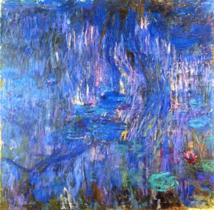 Water Lilies, Reflection of A Weeping Willow, 1916-19