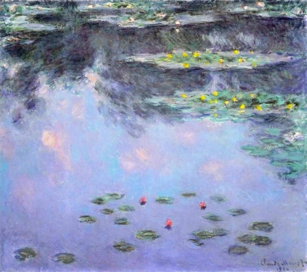 Water Lilies, 1906-07