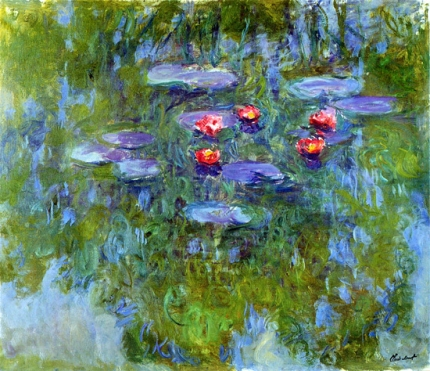 Water Lilies, 1916-19