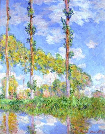 Three Trees In Summer, 1891