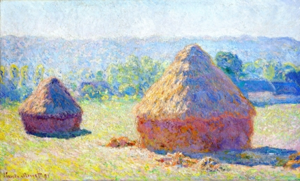 Grainstacks at the End of Summer, Morning Effect, 1891