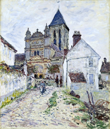 The Church at Vétheuil