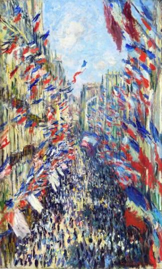 The Rue Montorgueil, Paris, Festival of June0