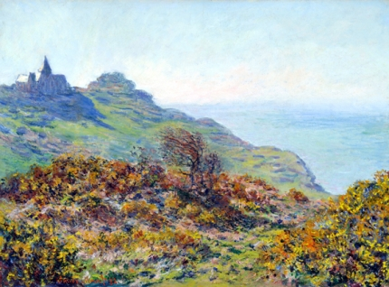 The Church at Varengeville and the Gorge of Les Moutiers, 1882