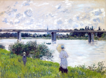The Promenade With the Railroad Bridge, Argenteuil