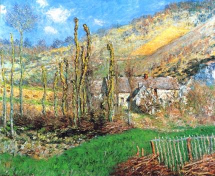 Winter Landscape at the Val De Falaise, 1885