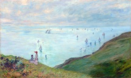 Cliffs at Pourville