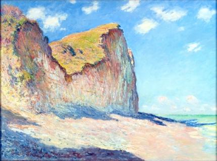 Cliffs near Pourville, 1882