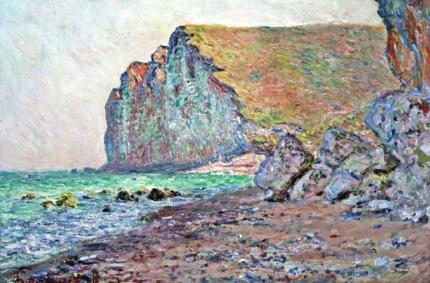 Cliffs of Les Petites-Dalles, 1884