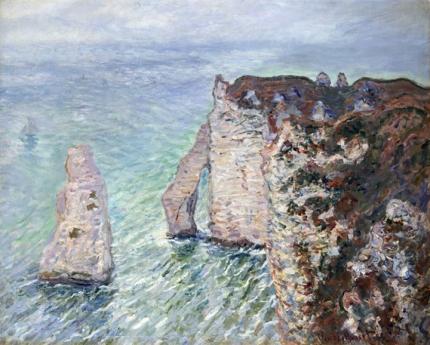 L'aiguille and the Porte D'eval, Etretat