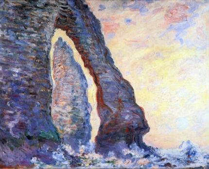 The Rock Needle Seen Through the Porte D'aval, 1885-86