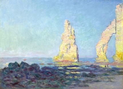 The Needle of Etretat, Low Tide, 1883