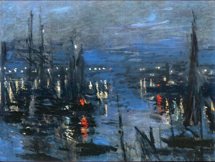 The Port of Le Havre, Night Effect, 1873