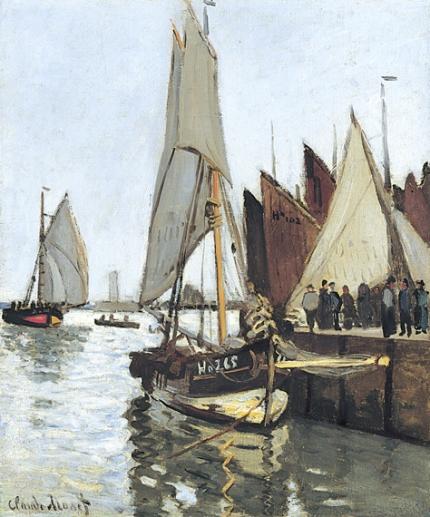 Sailboat at Honfleur