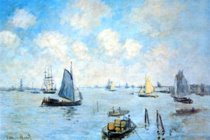 The Sea at Amsterdam, 1874