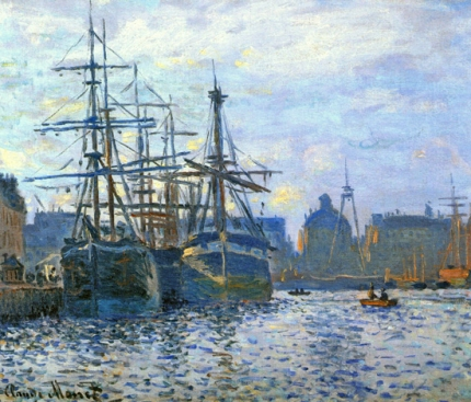 Le Havre, the Harbor, 1874