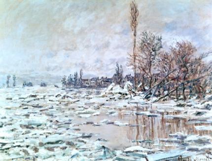 Breakup of Ice, Grey Weather, 1880