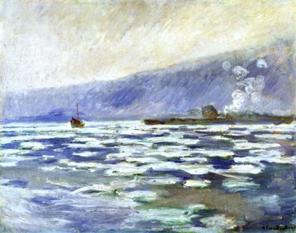Ice Floating at Port-Villez, 1893