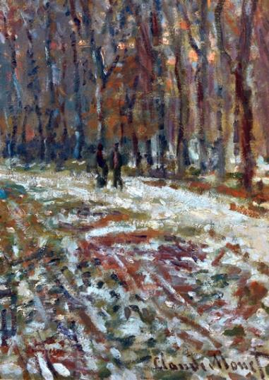 La Promenade d'Argenteuil, un soir d'hiver, 1875
