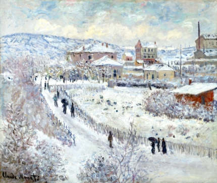 View of Argenteuil - Snow