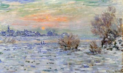 Winter On the Seine, Lavacourt