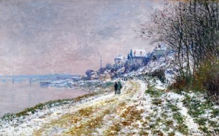 Le Chemin D'epinay, Effet De Neige