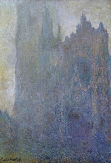 La Cathédrale Dans Le Brouillard