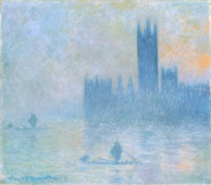 Houses of Parliament, Fog Effect, 1903