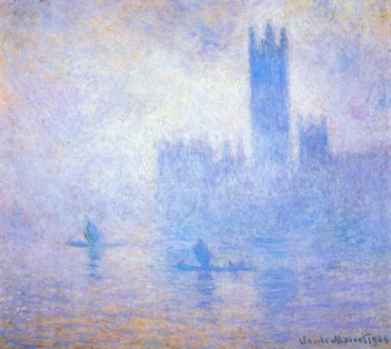 Houses of Parliament, Fog Effect, 1904