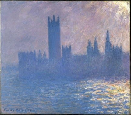 Houses of Parliament, Sunlight Effect, 1903
