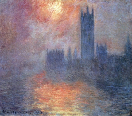 Houses of Parliament, Sunset, 1904