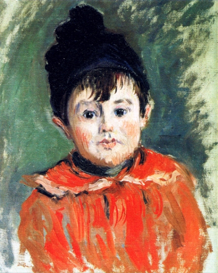 Portrait of Michel With Hat and Pompom, 1880