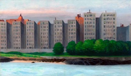 Apartment Houses, East River 1930