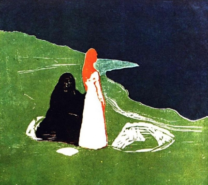Two Women On The Shore