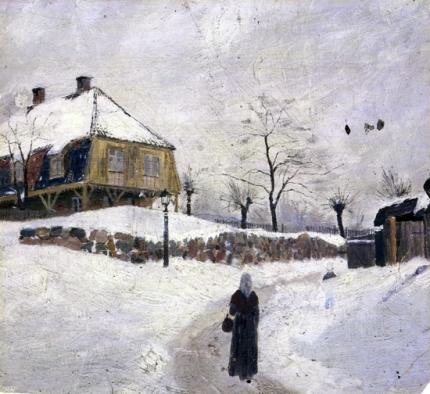 Ovre Foss In Winter